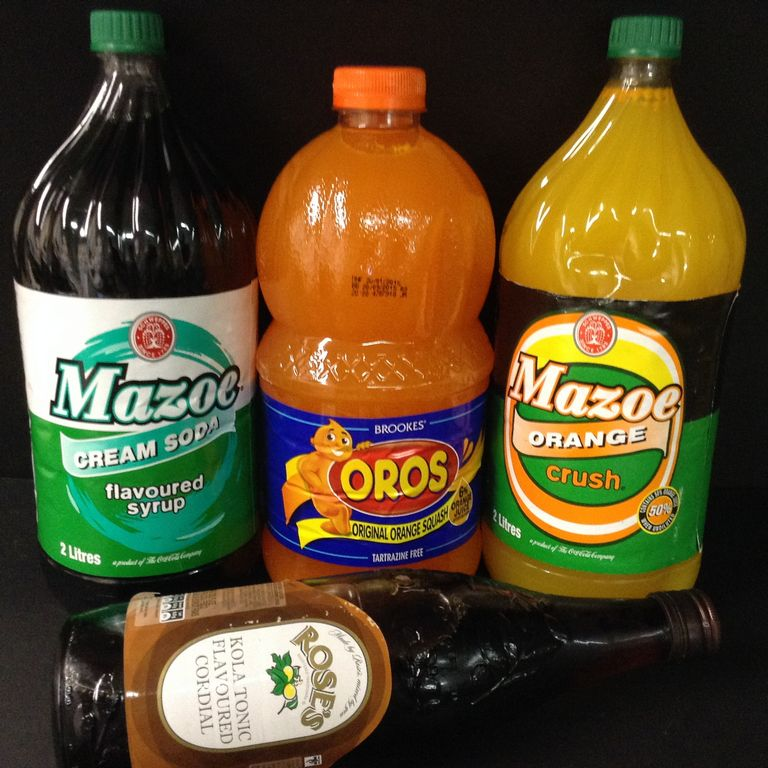 Energy Drinks / Squashes / Cordials