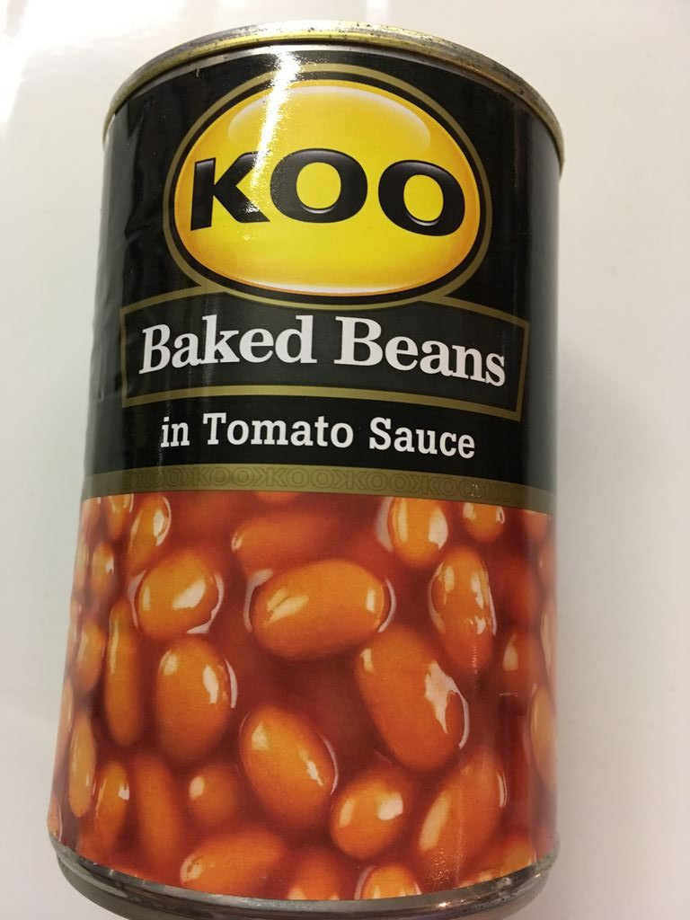 » Koo BAKED BEANS IN TOMATO SAUCE – 410g can